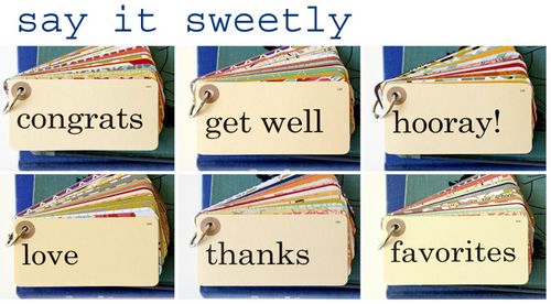 Say it sweetly