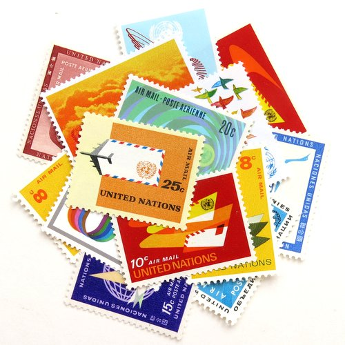 UN Postage Stamps