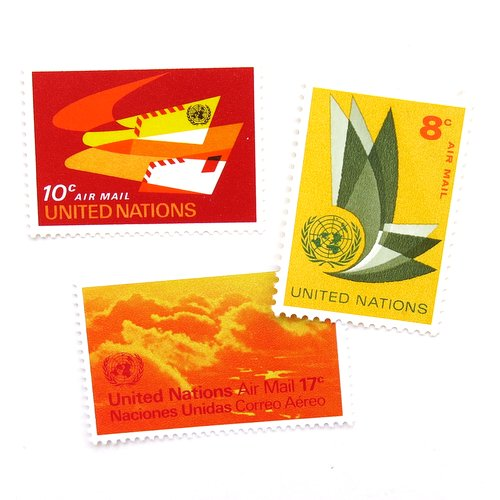 UN Postage Stamps2