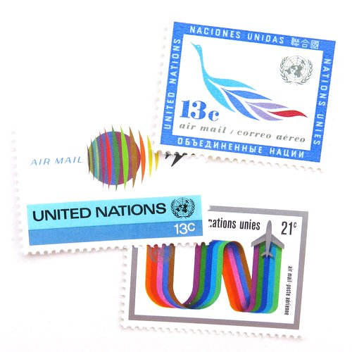 UN Postage Stamps5