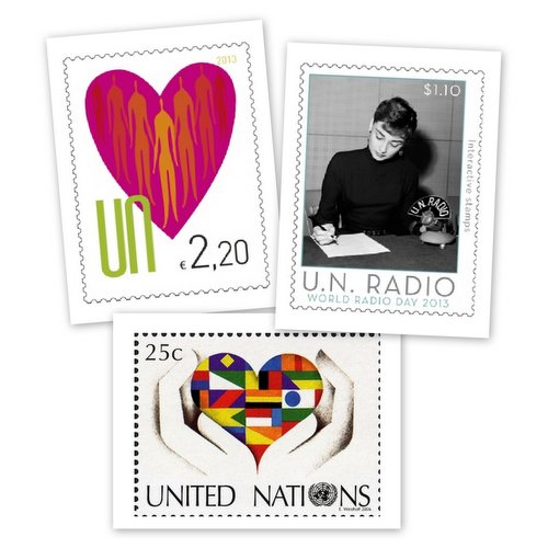 UN Postage Stamps6