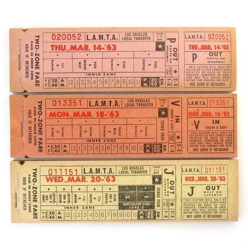 Vintage Tickets2
