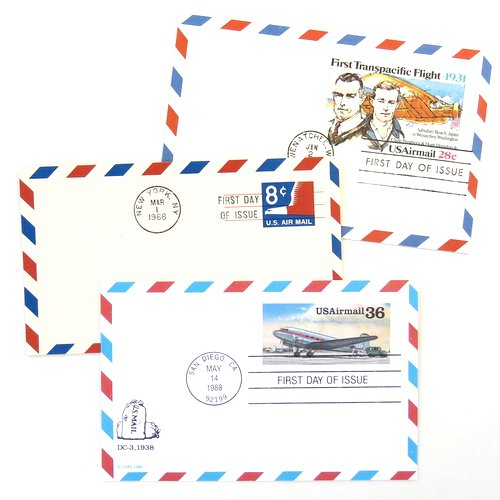 Airmail Postcards