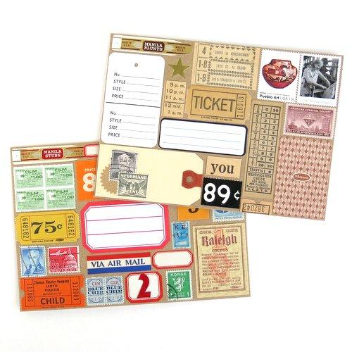 Collage Envelopes