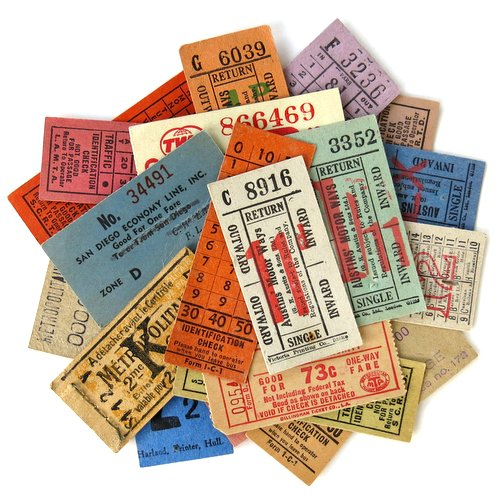 Vintage Ticket Collection