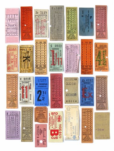 Vintage Ticket Collection2