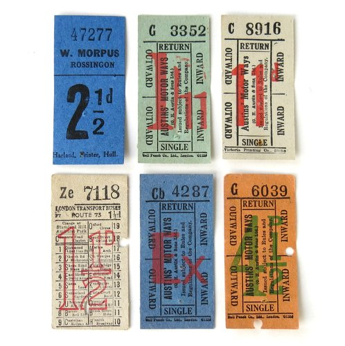 Vintage Ticket Collection3