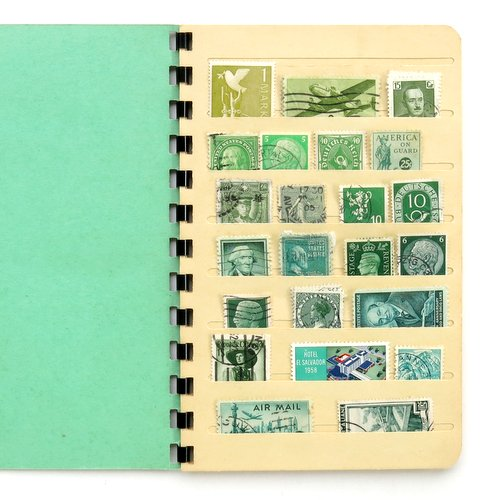 Vintage Stamp Collector's Book2