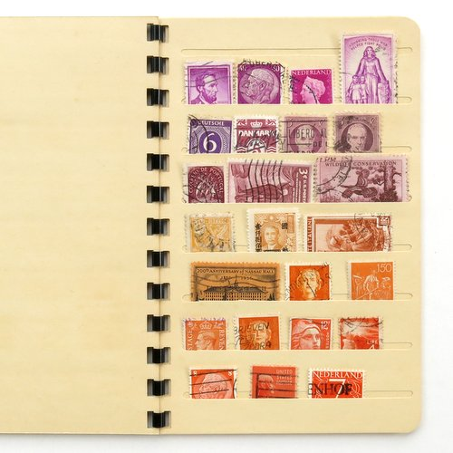 Vintage Stamp Collector's Book5