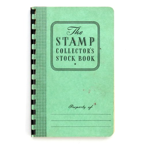 Vintage Stamp Collector's Book
