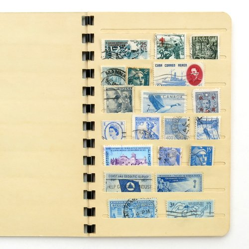 Vintage Stamp Collector's Book3