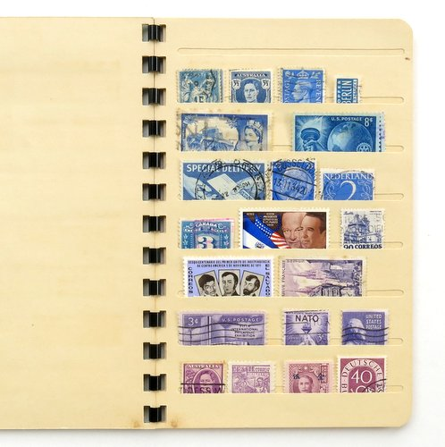 Vintage Stamp Collector's Book4