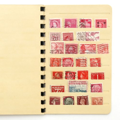 Vintage Stamp Collector's Book6