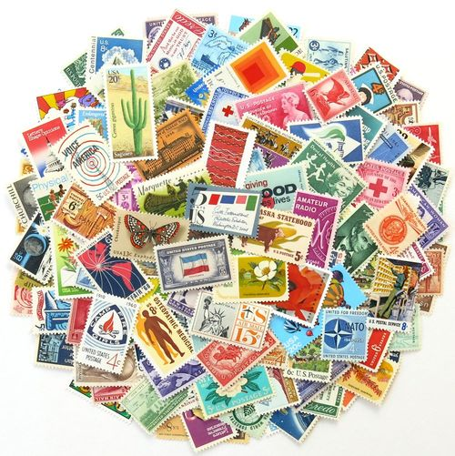 Unused Vintage Stamps_Extra Large Collection No. 1