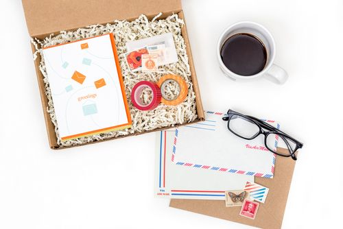 Mail Box Stationery Subscription
