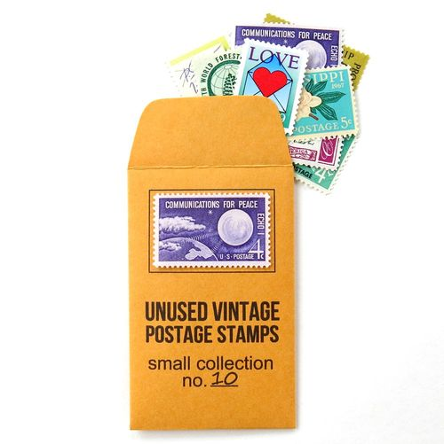 Unused Vintage Stamps_Small Collection No. 10_4