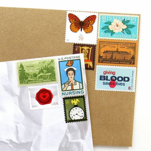 Unused Vintage Stamps_Large Collection No. 1_5